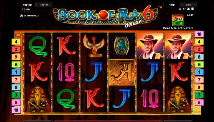 Book of Ra Deluxe Spielautomat