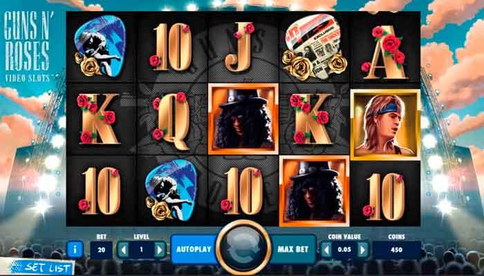 Gunsnroses NetEnt Beste Spielautomaten