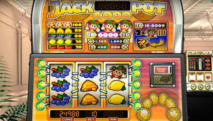 jackpot 6000 NetEnt Klassische Slots